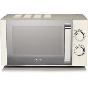Breville cream or black microwave. £39.97 - free click and collect George (Asda)