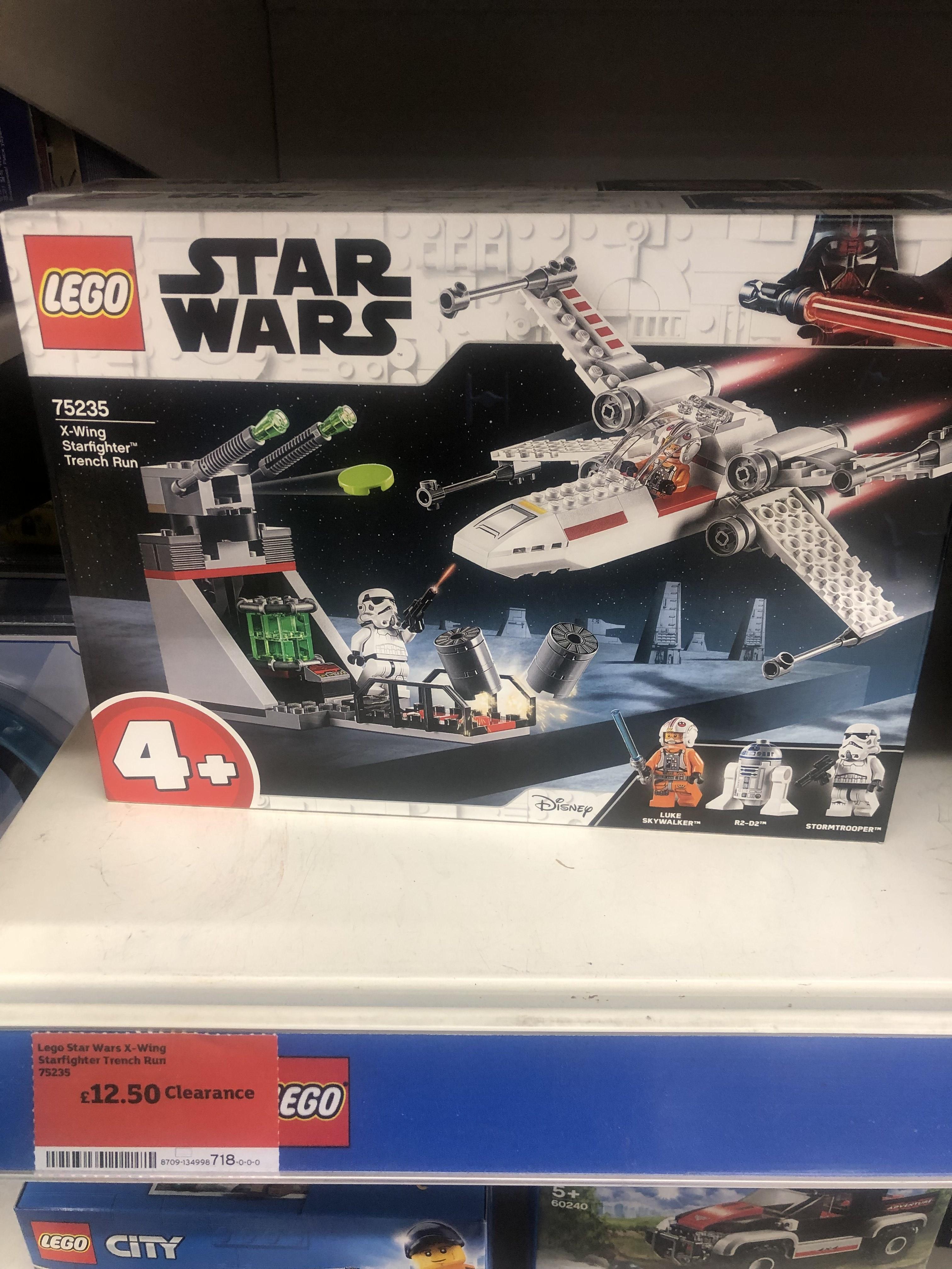 Lego half price instore (75235 £12.50, 70826 for £12) at Sainsbury's (found Fareham)