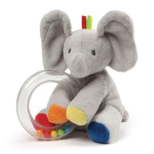 GUND Flappy Plush Rattle Soft Toy @ Amazon Add On Item - £2.49