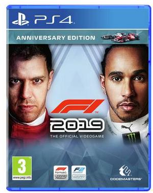 F1 2019 Anniversary Edition (PS4/Xbox One) - £32.99 @ Argos