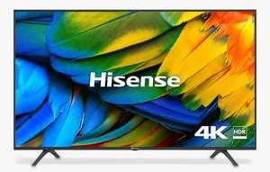 """Hisense H55B7100UK (2019) HDR 4K Ultra HDR10 Smart TV, 55"""" with Freeview Play,DTS Sound (inc 5 year warranty) £ 449 @ John Lewis & Partners"""