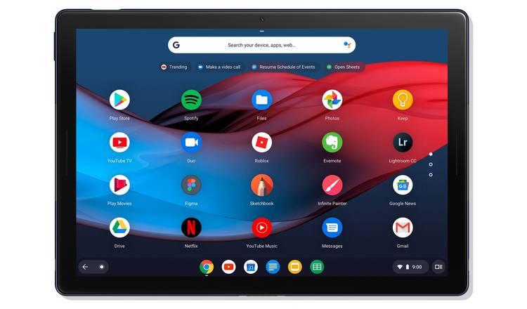 Pixel Slate 12.3 Inch M3 8GB 64GB 2-in-1 Chromebook £549 at Argos
