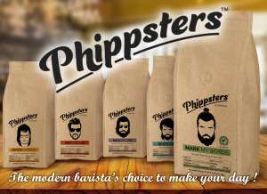 Free coffee samples from Phippsters