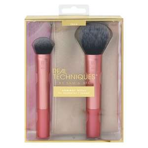 Real Techniques Summer Bliss Brush Set with Make Up Bag Now £9.99 C&C @ Boots