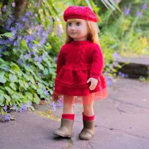 Our Generation Regular Doll with Red Dress £19.99 at Smyths Toys