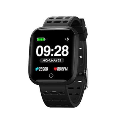 Lenovo E1 Smart Watch Global Edition - Black 1.33 Inch Zinc Alloy Casing - Black China £33.32 @ Gearbest