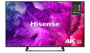 Hisense 50 Inch H50B7300UK Smart 4K UHD TV with HDR £349 at Argos