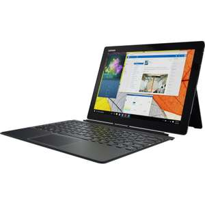 "Lenovo Miix 720 12"" Touchscreen 2 in 1 laptop - i5-7200U / 8GB RAM / 256GB SSD / Active Pen £469.99 with code @ LaptopOutletDirect / eBay"