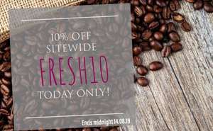 10% off Fresco Gourmet Coffee Today only