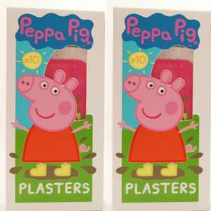 Peppa Pig plasters at Home Bargains - 49p instore