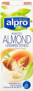 Alpro Roasted Almond Unsweetened UHT Drink 1L now £1 at Sainsbury's