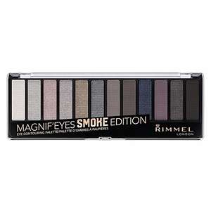 Rimmel London Magnifies 12 Pan Eyeshadow Palette,14g, Smokey Edition - £5.05 / +£4.49 non Prime @ Amazon