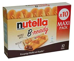 10 Pack of Nutella B Ready £1.79 in B&M