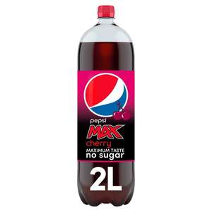 Pepsi max Cherry and ginger buy 2 for £2.50 @ Morrisons