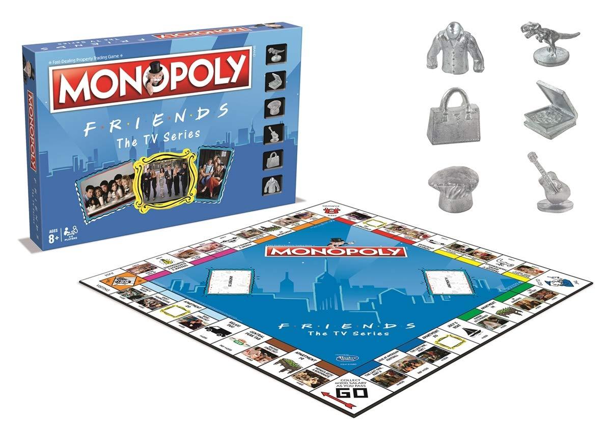 Friends Monopoly £11.99 (Prime) + £4.49 (Non Prime) at Amazon