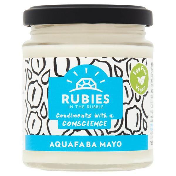 Rubies in the Rubble Aquafaba Mayo 160g at sainsbury's Fulham Wharf - 20p