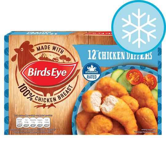 Sainsbury's 12 Birds Eye Chicken Dippers 220g - £1.00 Half Price