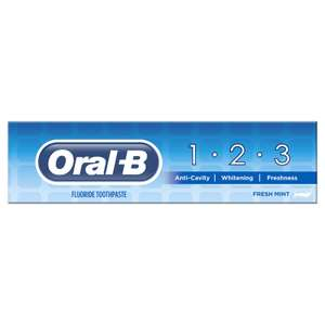 Oral-B 100ml Toothpaste 79p instore at B&M