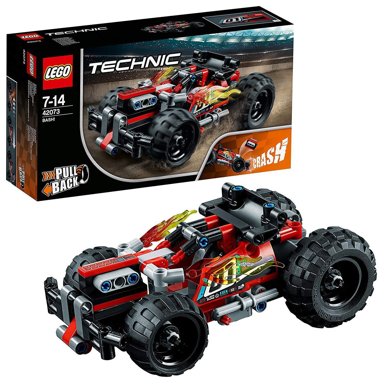 LEGO 42073 Technic BASH! Racing Car Toy, 2 in 1 Advanced Building Set £11.99 (+£4.49 Non Prime) @ Amazon
