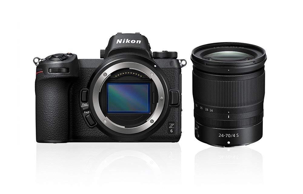 Nikon Z6 + NIKKOR Z 24-70 mm f/4 S Kit Camera - £1,879 @ Amazon