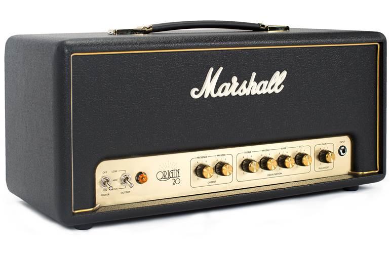 Marshall Origin 20 Watt all-valve guitar amp head £249 delivered at GuitarGuitar