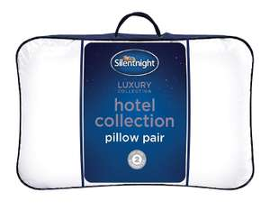 Silentnight Hotel Collection Pillow Pair @ Amazon - £13.99 (Prime) £18.48 (Non Prime)