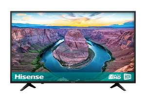 Hisense H50AE6100UK 50-Inch 4K Ultra HD HDR Smart TV with Freeview Play £299 @ Amazon