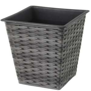 Mansion Square Rattan Planter reduced from £14,99 to £3.99 with code at Robert Dyas