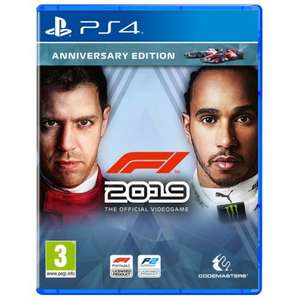 F1 2019 - Anniversary Edition (PS4/Xbox One) £29.99 Delivered @ Currys