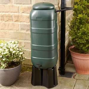 100L Compact Water Butt with Rain Diverter Kit and Stand £15 @ Wickes - Free C&C