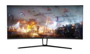 "EG 35"" UWQHD Curved Gaming Monitor - £404.01 Delivered @ Ebuyer"