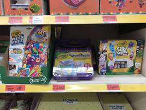 Reduced to clear crayola Sainsbury's (Bangor) instore from £3