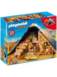 Play mobil pharo's pyramid £35 @ John Lewis & Partners (+£2 C&C / £3.50 delivery or free delivery over £50).