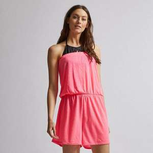 Dorothy Perkins  Beach Pink Playsuit Sizes S, M, L (8-18) £3 delivered with code @ Debenhams