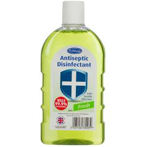 Dr Johnson 500ml Fresh Disinfectant - Green  45p w/code  (free C&C) @ Robert Dyas or Ryman Stores - 45p