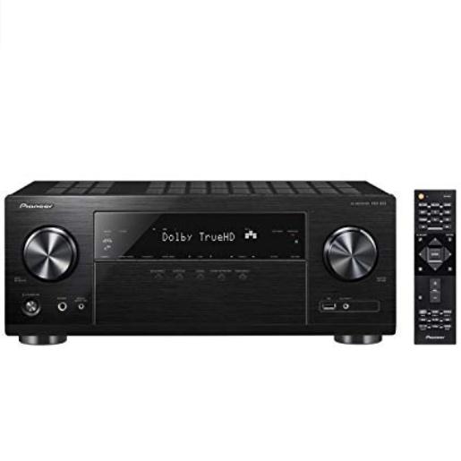 Pioneer VSX-832 5.1 Channel AV Receiver - £269.59 @ Amazon