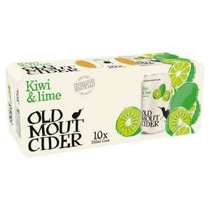 10 cans x 330 ml of Old Mout cider @ Tesco instore Feltham High Street - £5.50
