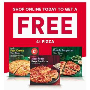 Free Pizza @ iceland with code