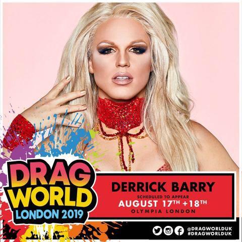 Drag World 2019 FREE Tickets - £3 Booking Fee @ SFF