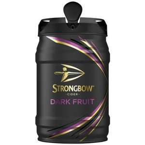 Strongbow Cider Dark Fruit Keg 5L - £10.99 @ B&M