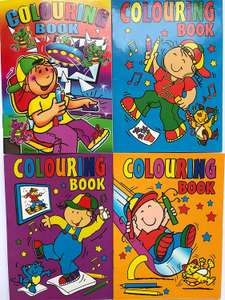 Pack of 10 a6 colouring books - £1.92 (Prime) £4.91 (Non Prime) @ Sold by NEW ERA and Fulfilled by Amazon.