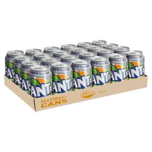 24 Cans of Fanta Zero for £6.00 at Iceland
