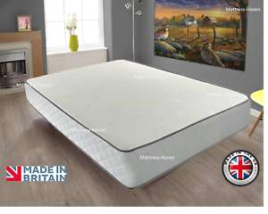 Memory Foam Mattress Quilted Spring 2ft6 Small Single £22.77 delivered w/code @ mattress-haven eBay