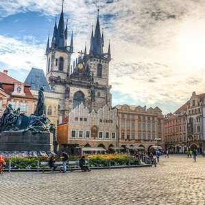 9 nights Prague + Vienna + Budapest for 2 people inc Hotels + Return Flights + Train Transfers £229pp (£458 total) @ Groupon(Crystal Travel)