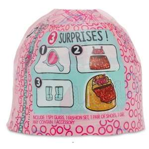 L.O.L Surprise Fashion Crush - Scan at £0.40 instore at Asda
