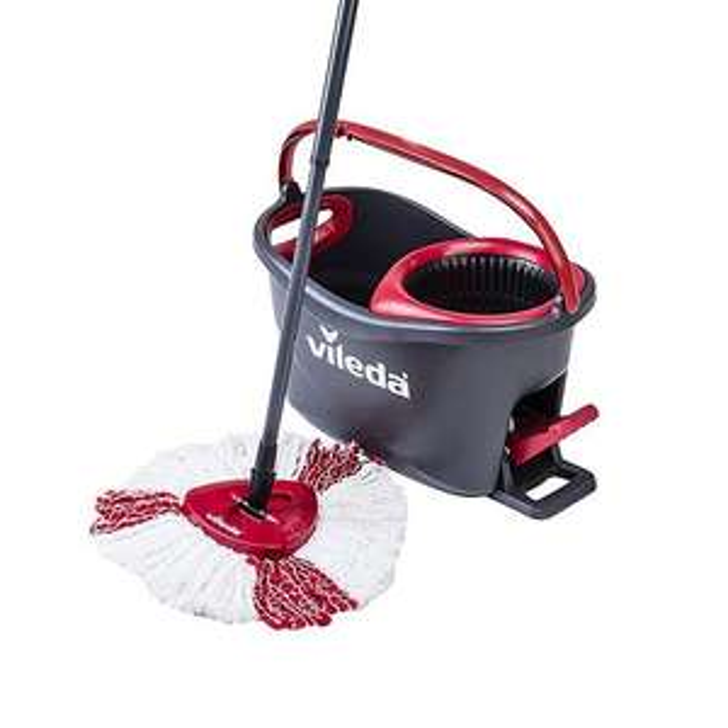 Vileda EasyWring & Clean Turbo Spin Mop and Bucket Set £17 @ ASDA