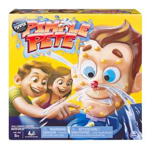 Spin Master Games Pimple Pete Game now £6.99 (Prime) + £4.49 (non Prime) at Amazon
