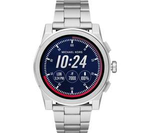 (Price Drop Of £50) MICHAEL KORS Access Grayson MKT5025 Smartwatch - Silver, Medium £89.99 @ Currys