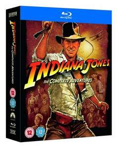 Indiana Jones: The Complete Adventures [1981] [Region Free] Box Set £11.25 Prime / £13.24 non Prime at Amazon