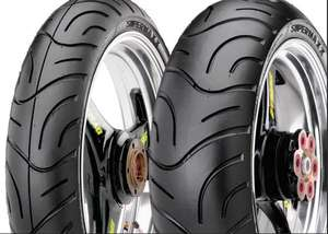 Motorcycle Maxxis Supermaxx Touring Tyre Pair 120/70 ZR17 | 190/50 ZR17 £98.99 delivered @ M&P Direct